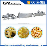 China Supplier puff corn bean cereals flakes machine