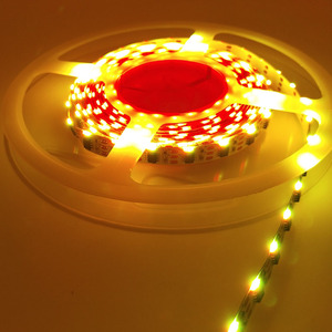 Side WS2811 RGB Emitting View Color LED Strip 5V