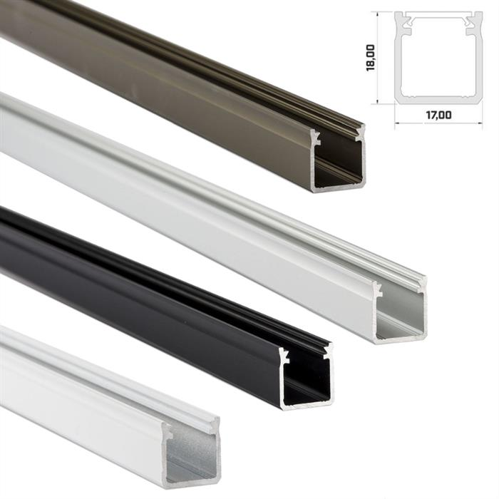 Large Selection on Aluminium Profiles for LED Channel