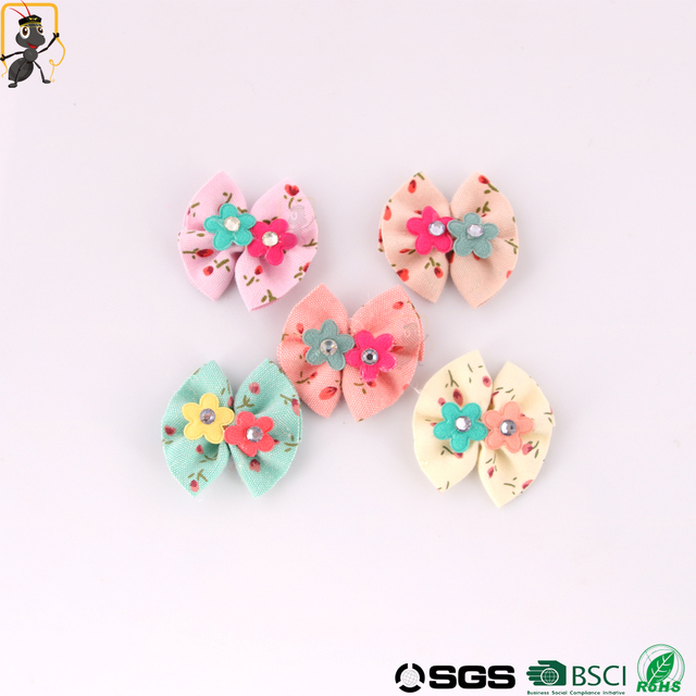China silk hair flower clips wholesale alibaba haoxie brand small silk flowers baby hair clips hair bow tie wholesale silk flowers mightylinksfo