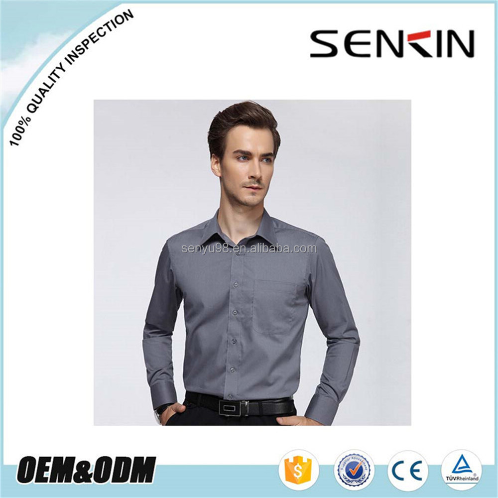 Factory Price Custom Men Uniform Shirt /working uniform/ Business Shirt OEM