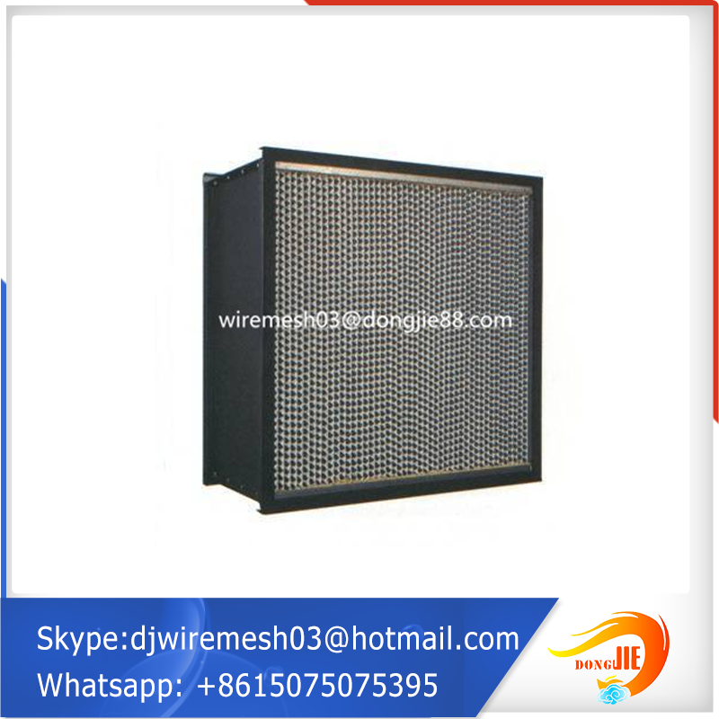 H13 H14 Clean Room Air System Pleated Panel Hepa Filter