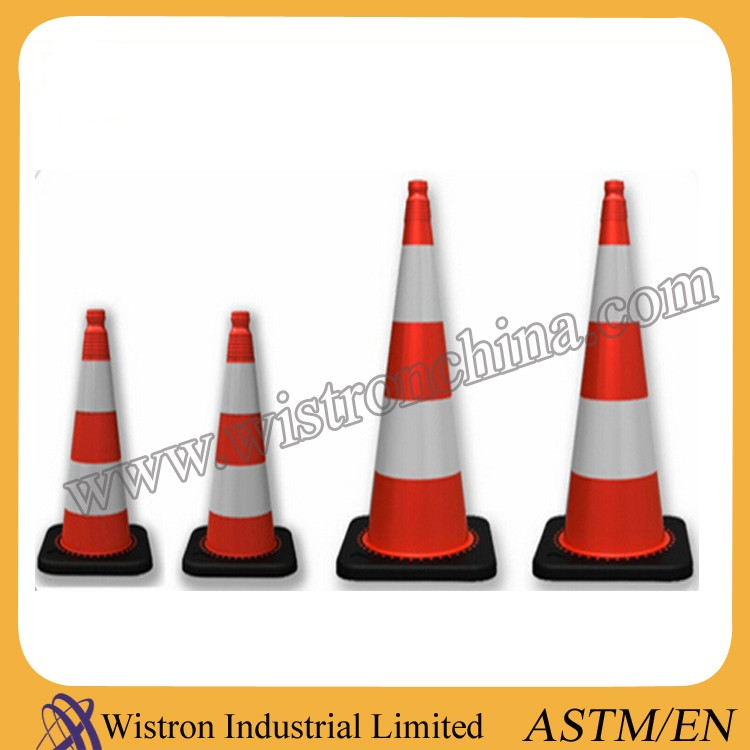 90cm  Driveway Reflective Road Cone Safety Equipment Traffic Cone