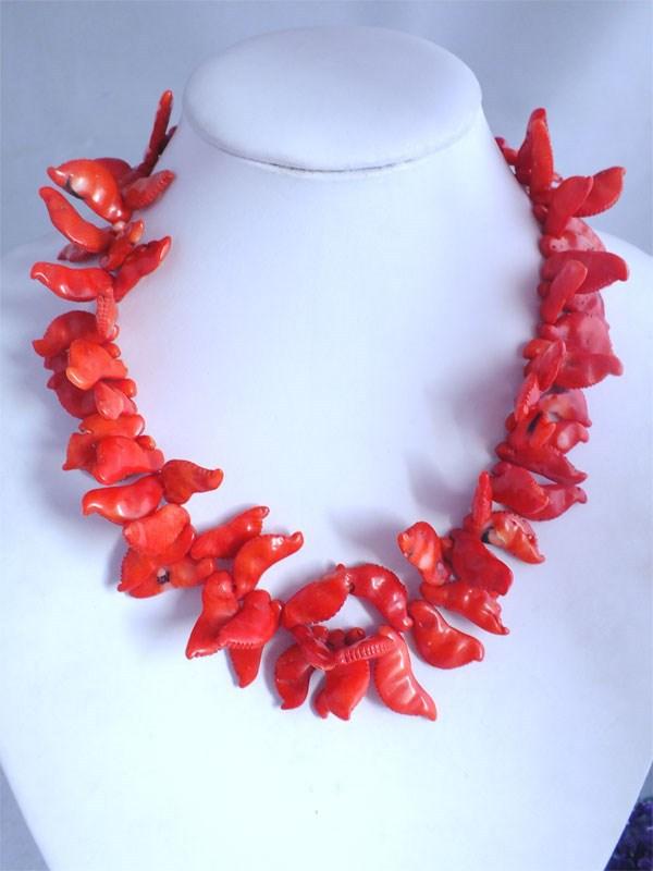 necessário para umas férias na praia handmade red coral colar de