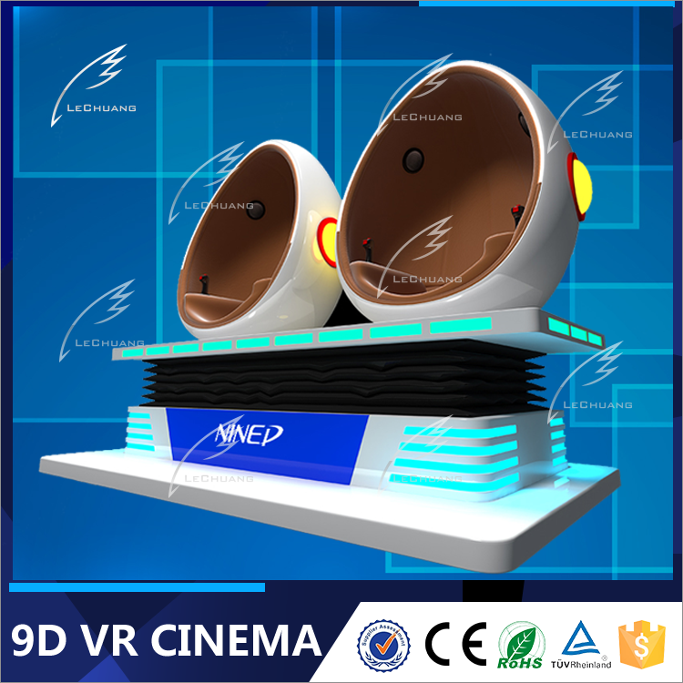 2016 Most Attractive 9D Egg VR Cinema Virtual Reality Full Flight Simulator For Sale