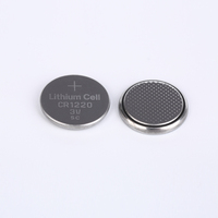 High capacity environmental button battery 3v coin cell battery CR1220 batteries