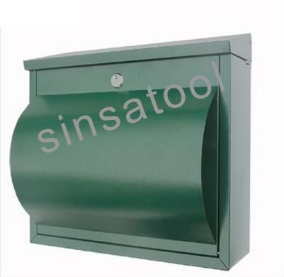 Verrouillable Extérieur Boîte aux lettres boîte Boîte aux lettres Post Mail Letter Box Outdoor Wall