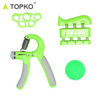 TOPKO wholesale private label gym indoor strength training fitness set finger exercise,hand grip,hand grip ball