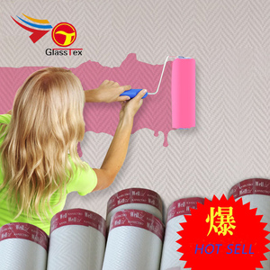 2018 Hot sale Waterproof fiberglass wall covering interior decoration wall decor