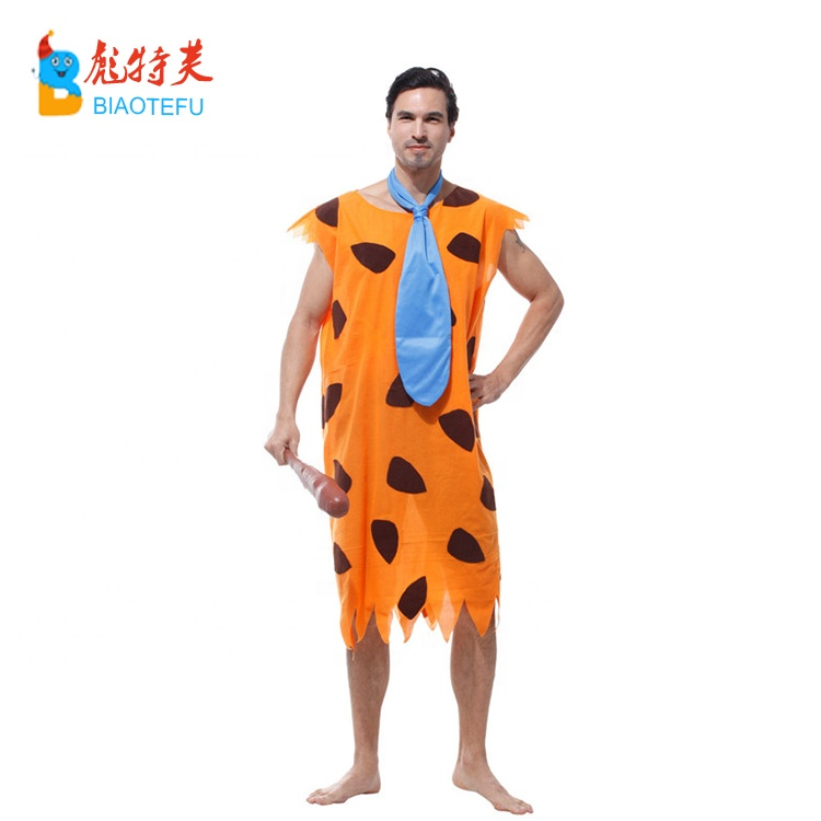 adult fred flintstone primitive man cosplay costumes