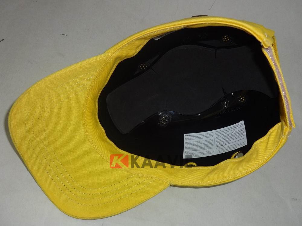 cotton baseball style bump cap insert