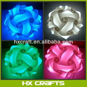 IQ Jigsaw Light shade kit. DIY Puzzle Lampshade , mix colour