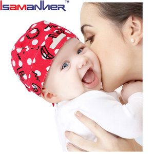 Hot sale new born baby cap, wholesale knitted cotton baby cap