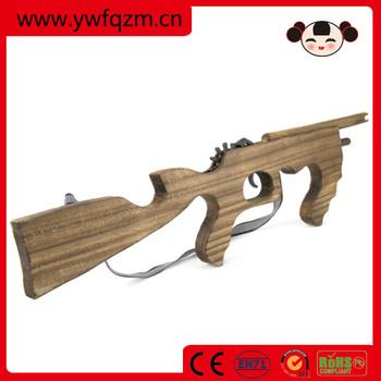 Wooden Arrow Gun Toy Model