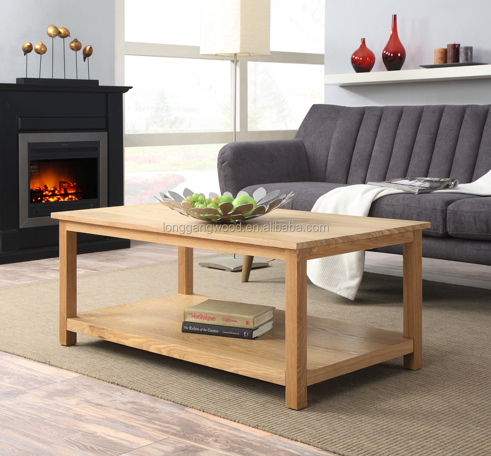 High Quality Wooden Coffe Table Storage Living Room Furniture Home Wooden Coffe Table Design