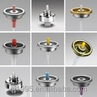 Aerosol spray can spray valves