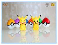 High speed attractive cheap design free usb flash drive sample pokemon go ball pen drive