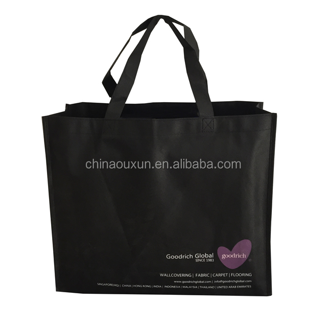 Promotion cheapest shopping biodegradable non woven bag