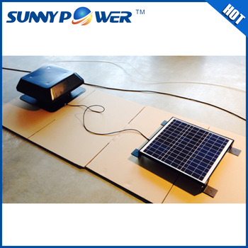 Strong Power 30w Sqaure Outdoor Travelling Mini Solar Fan