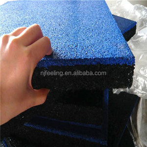 Weight Room Rubber Flooring/Tiles Rubber/50mm Gym Flooring FN-E-16032807