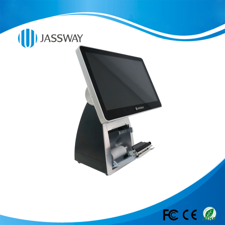 Multi-point projective capacitive touch panel epos Machine