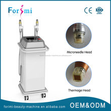 Painful and beautiful !!! fraction auto micro needle therapy system