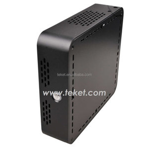 All Metal Aluminum MINI-ITX Chassis for HTPC-A02B,1*POWER_SW,ATX Module Power 90W+12V5A Adaptor,225x200x80(mm)
