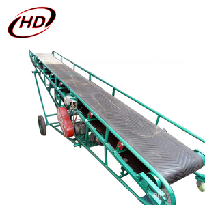 DY grain silo rubber belt conveyor system for bulk material/rice/maize