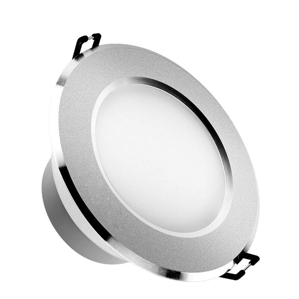Lights & Lighting Objective Mini Recessed Spot Light Dimmable Downlight Led Cabinet 3w Led Downlights Led Driver Warm White And White Silver Body Ac85-265v