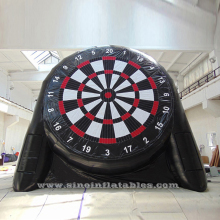 6.4 meters high double side giant inflatable soccer dart board for kids N adults soccer darts game entertainment