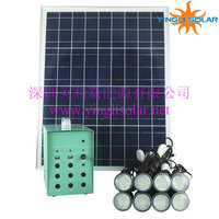 30w/18v Home Solar System For Home Lighting Indoor Outdoor Use ...