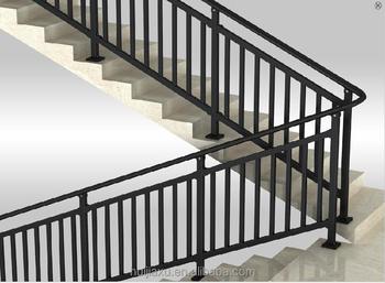 Perfiles de aluminio para barandilla interior escaleras Escaleras residenciales