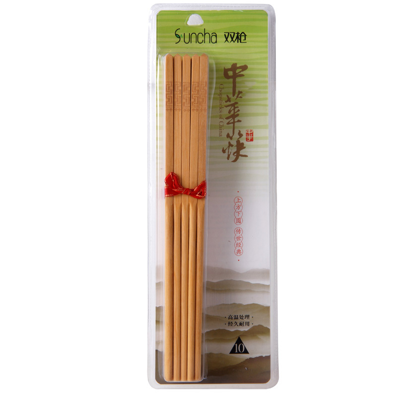 Spear authentic Japanese chopsticks creative suite upscale hotel Cocobolo home KZ2014 ten pairs of chopsticks loaded