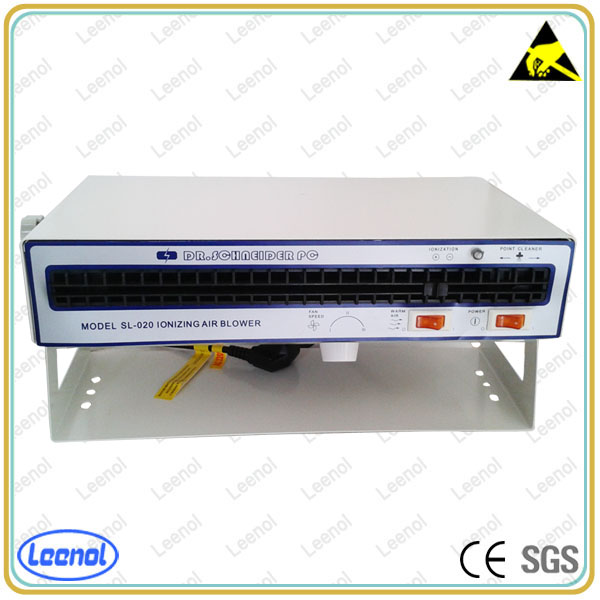 Horizontal antistatic electric lonizing air blower