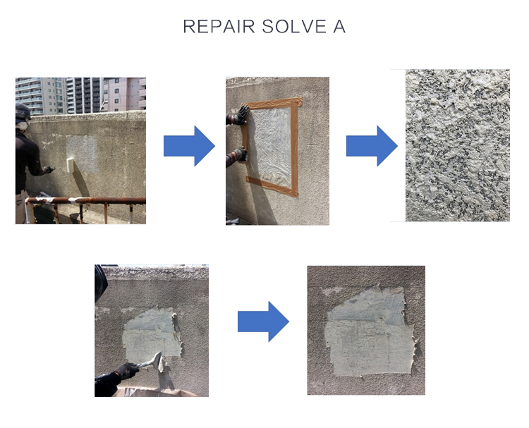 Repair Solve A Paint Removing Asbestos Paint Made in Japan