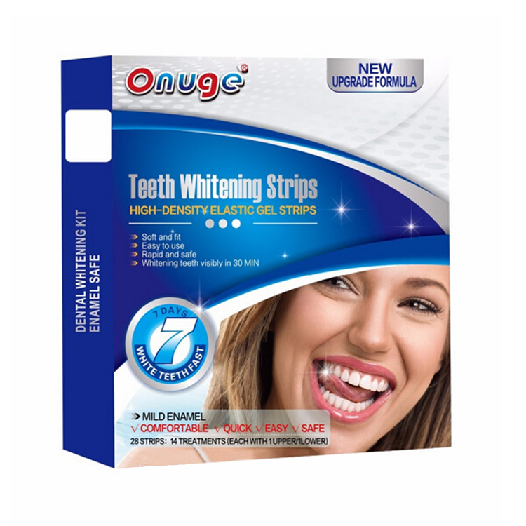 14 PAIRS PROFESSIONAL ADVANCED TEETH WHITENING STRIPS HOME TOOTH BLEACHING WHITE