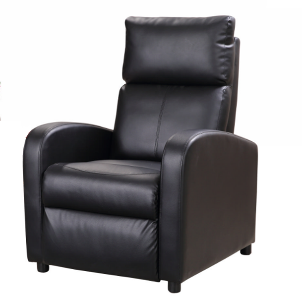 Black leather recliner sofa set,single sofa recliner,luxury sofa sets