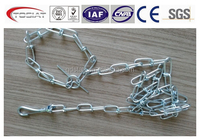 Tie out chain dog chain dog leads