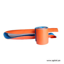 "<span class=keywords><strong>Sam</strong></span> blau & orange rolled splint 36 ""rolle schienen heraus shin"