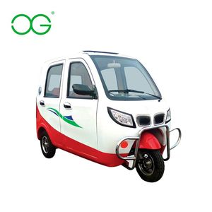 2018 hot sale three wheel passenger electric tricycles for adults for sale/motorised tricycles/electric car