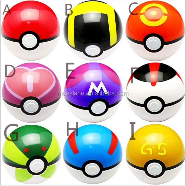 pokeball shape factory directly price ball pokemon plush toy cute