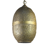 Hot selling arabic style moroccan brass pendant Light