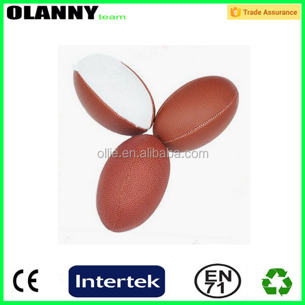 silk screen printing hand sewing best seller rugby stress ball