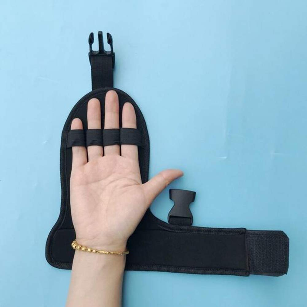 Finger Splint Support Ability, Auxiliary Fixed Gloves, Paraplegic Rehabilitation Training Equipment, Finger Grip Strength, Old Man Fist,A