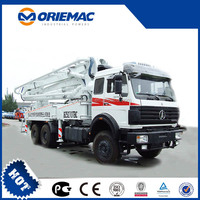 BEIBEN NG80 6x4 8x4 concrete pump car