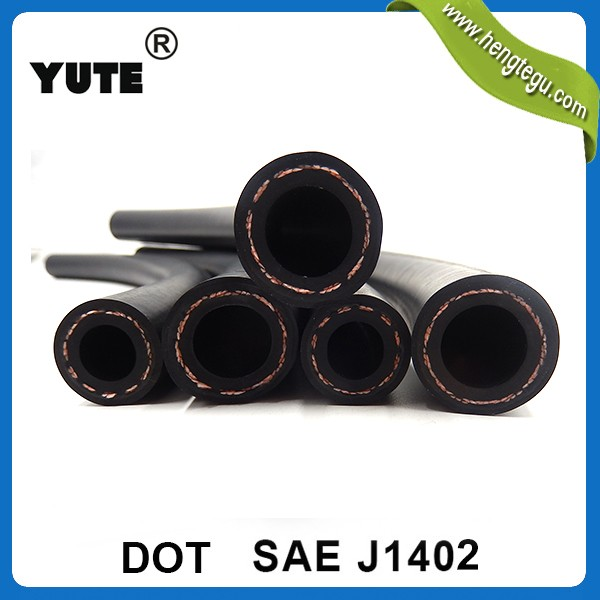 1/2 inch synthetic rubber suzi coil air brake hose for buses /truck braking system