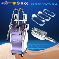 health and beauty care 4 handles Cryo fat freezing machine rapidly slimming criolipolisys machine