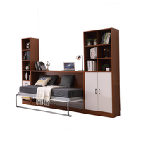 Home Furniture General Use vertical wall mounted murphy bed modern folding bed hardware