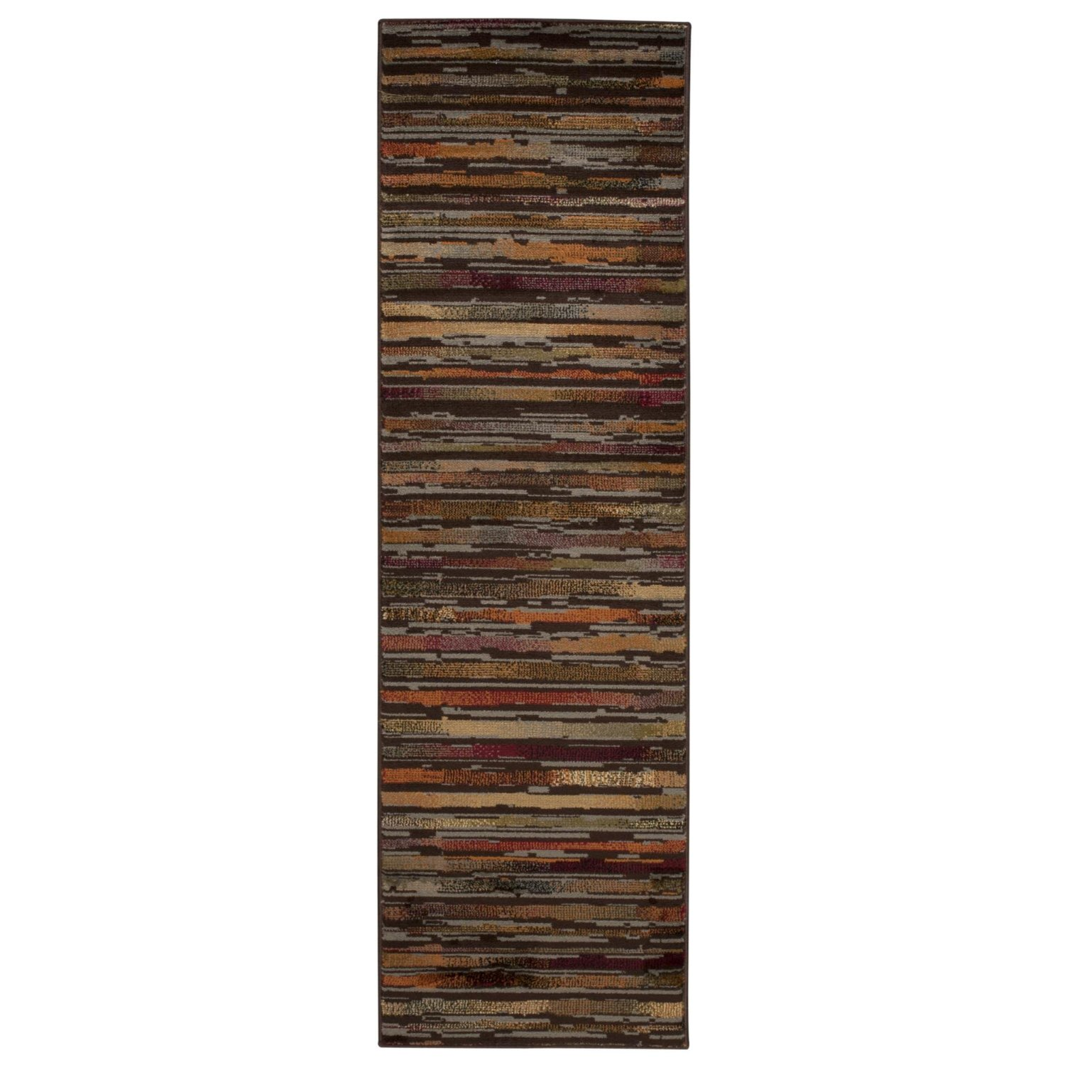 Rug Squared Mariposa Traditional Rug Runner (MAR15), 2-Feet 2-Inches by 7-Feet 3-Inches, Multicolor