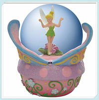 Westland Giftware Resin Water Globe, Butterfly Tinker Bell